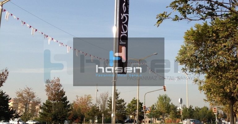 Beğendik Mağazası - 6 metre bayrak direği