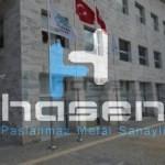 Bursa Nilüfer Belediyesi - Paslanmaz Bayrak Direği