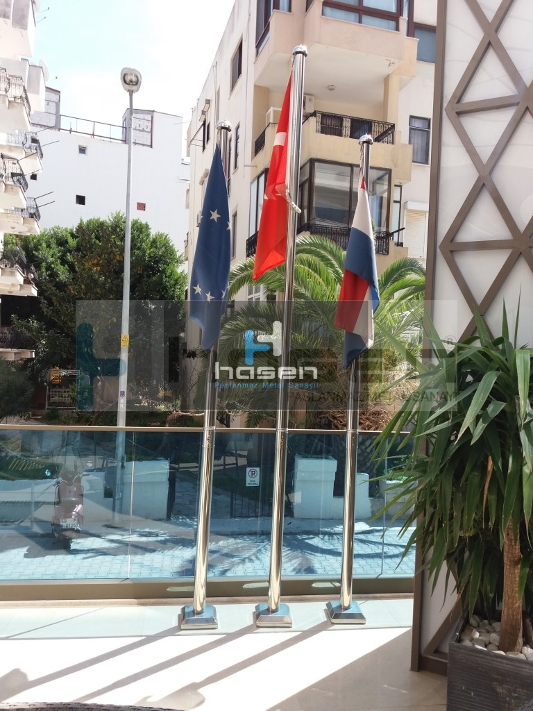 JDW Hotel MARMARİS Paslanmaz Bayrak Direği