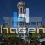 Kahramankazan Belediyesi - 24 Metre Paslanmaz Bayrak Direği